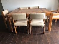 brown wooden table with four chairs Windsor, N9A 0C1