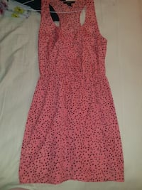 F21 MED women's pink and black sleeveless dress Falls Church, 22043
