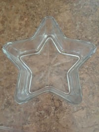 Glass candy dish star make me a offer  Ceres, 95307