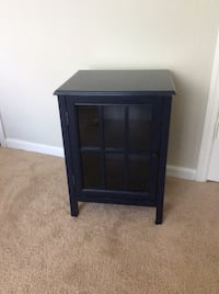 Target Navy accent hutch