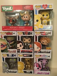 Assorted Funko! Audrey, Iron Giant, Rudolph Cambridge, N1P 1A5