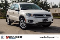 2013 Volkswagen Tiguan Trendline 4MOTION AWD, HEATED SEATS, LOCAL SUV!