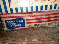 white, blue, and red Canadian Flyer ice skating outfit pack Queens, 11429