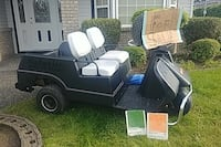 1968 Harley Davidson collector 3 wheel golf cart.