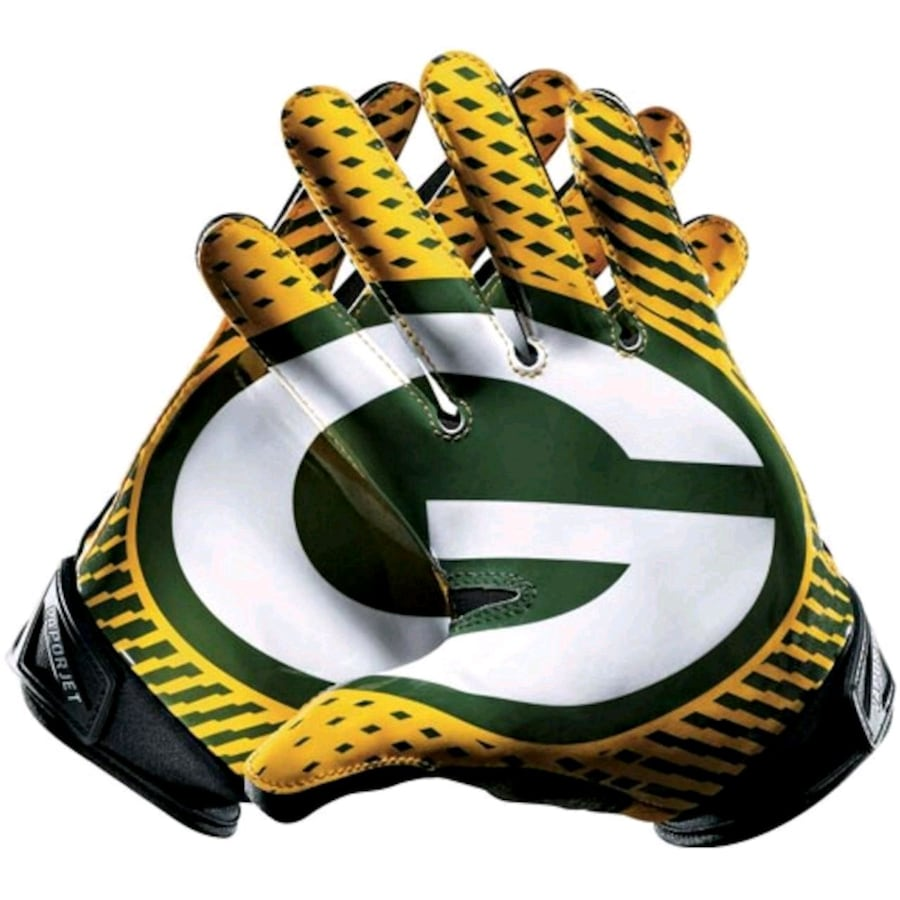 Packers Vapor Jet mens xxl gloves