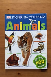 Animal sticker book Toronto, M9B 2B1