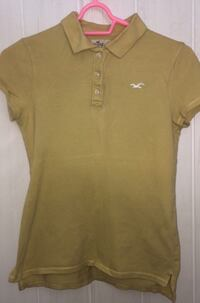 Polo brun Hollister