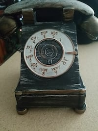 green and white wooden rotary home phone Indian Head, 20640