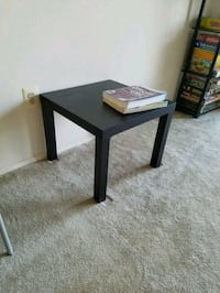 Ikea black side table Alexandria