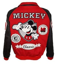 Red vintage Mickey Mouse Jacket  Calgary, T1Y 4Z3