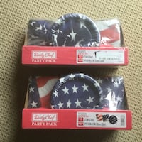 4th of July party pack - 2 sets Yorba Linda, 92886