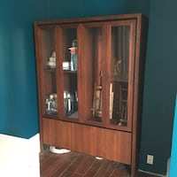 Brown wooden cabinet Baltimore, 21223
