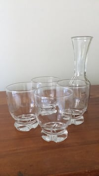 Wine Glasses and Decanter - new never used  Arlington, 22209