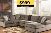 "3pc ""Dune"" Microfiber Sectional—NEW Suwanee, 30024"
