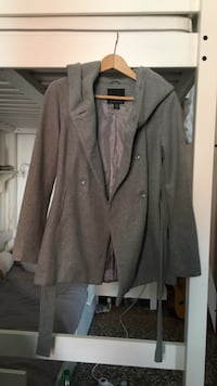 Cappotto button-up grigio AMISU Roma, 00164