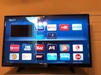 "55"" Smart 4K tv with small crack Alexandria, 22312"