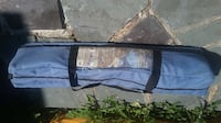 Brand new portable foldable bed frame. Great for camping or guest bed. Add mattress on top. Toronto