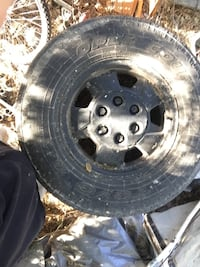 4 tires and rims 75/R16 Twin Falls, 83301