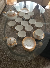 white ceramic tea cup set Montréal, H8Y 3J5