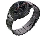 round black chronograph watch with black link brac Singapore, 689715