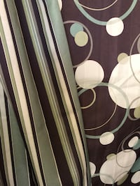 A pair of Two sided shower curtain Silver Spring, 20904