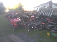 MOWER, SNOWBLOWER AND RIDER USED PARTS