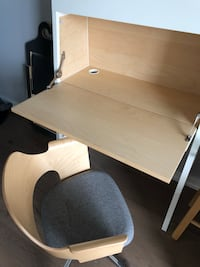Ikea desk and chair Toronto, M5V 0L6