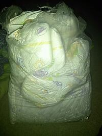 white and yellow disposable diapers Laurel, 20724