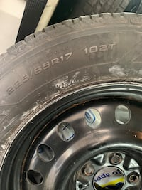 4 Sets of winter tires with rims