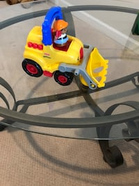 Little People Dump Truck with Construction Worker
