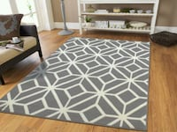 Geometric Modern rug 8x11 Large rug Gray Baltimore, 21229