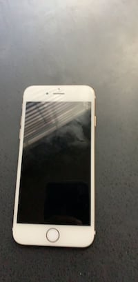 gold iPhone 6 with white case North Las Vegas, 89081