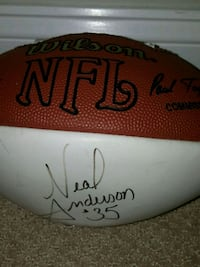 Autograph  Wilson Football  Glen Ellyn, 60137