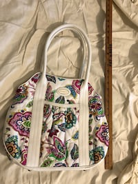 white, pink, and green floral crossbody bag Gloucester, 23061