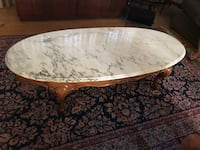 White marble coffee table  Rahway, 07065