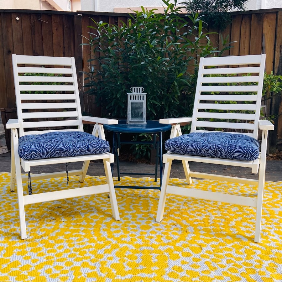 Patio Chair & Table Set