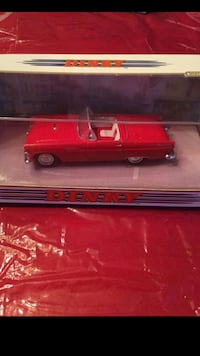 1993 Matchbox-1967 Ford Mustang/1959 Pink Cadillac/1955 Ford Thunderbird and 1957 Chevy Bel Air Dinky Die Cast Cars. Bay Shore, 11706