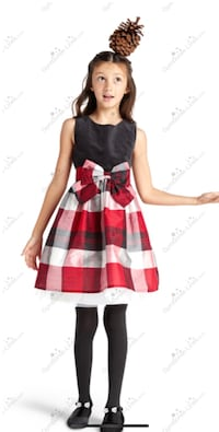 Gymboree plaid holiday dress. Brand new with tags ! Size six Vaughan, L4H 3W8