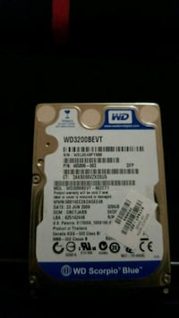 WD 3200BEVT hard disc drive Mississauga, L5A 1A6