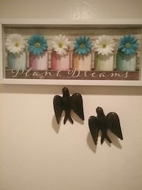 Photo frame and decorations Bird