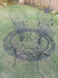 ANTIQUE WROUGHT IRON 3 PIECE SET Metairie, 70006