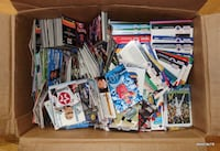 Thousands of 1980's-00's Sports Trading Cards Concord
