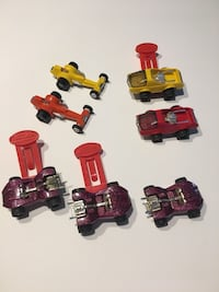 Vintage 1970's 7 piece Tonka mini totes Vehicles good condition Rahway, 07065