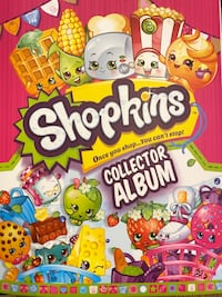 Shopkins collector album (with all cards included) Chesapeake, 23322