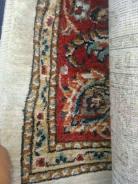 brown, red, and white floral area rug Hempstead, 11550