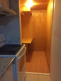 brown wooden cabinet with shelf Mississauga, L5N 3E4