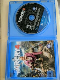 Farcry 4 PS4 game disc with case Winnipeg, R2M 4X4