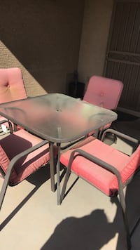 Patio 5 piece set - table w/4 chairs  Phoenix, 85035