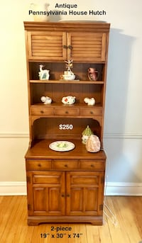 Antique Pennsylvania House Hutch (Price Reduced)