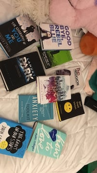 bunch of books